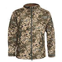 Куртка тактична SoftShell ММ14 (Український піксель), фото 1