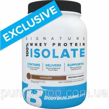 Сироватковий ізолят Bodybuilding Signature 100% Whey Isolate 725 г