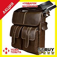 Мужская сумка с ручками Westal CC. Натуральная кожа