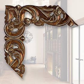 Зеркало в раме, деревянная рама