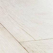 Дошка тика висвітленого білого ЛАМІНАТ - CLASSIC