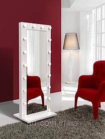 Напольное зеркало с лампочками 1900х700