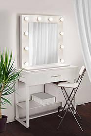 Зеркало для макияжа с подсветкой 700х700 мм