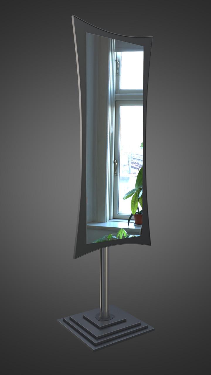 Напольное зеркало, черное