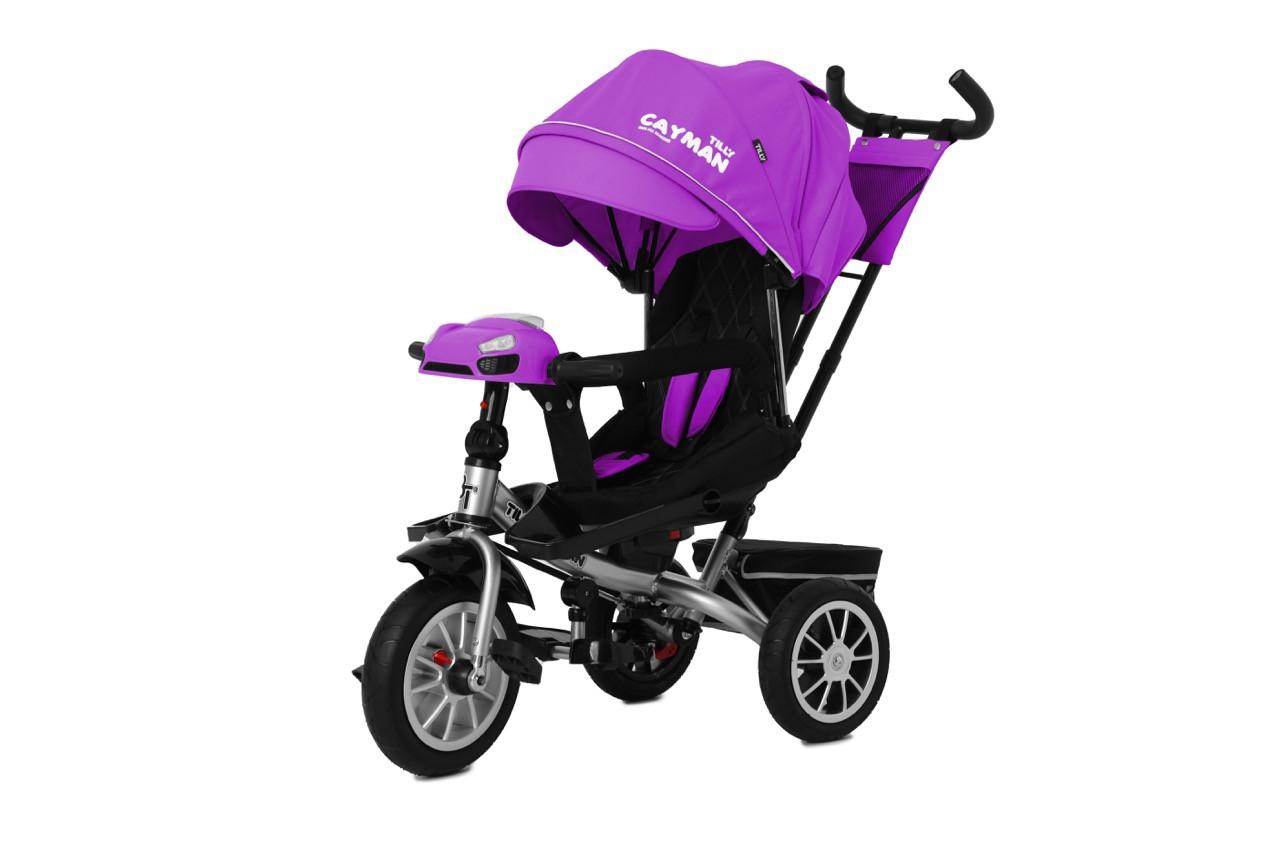 Трехколесный велосипед TILLY Cayman Кайман, Фиолетовый