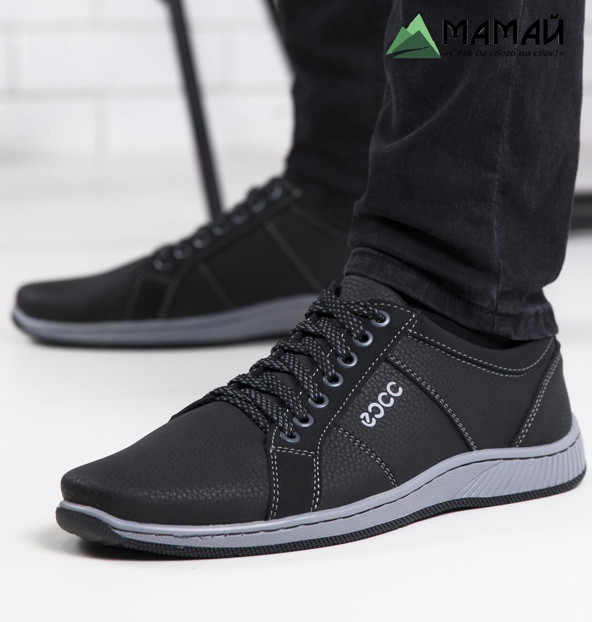 Кроссовки мужские черные 40р