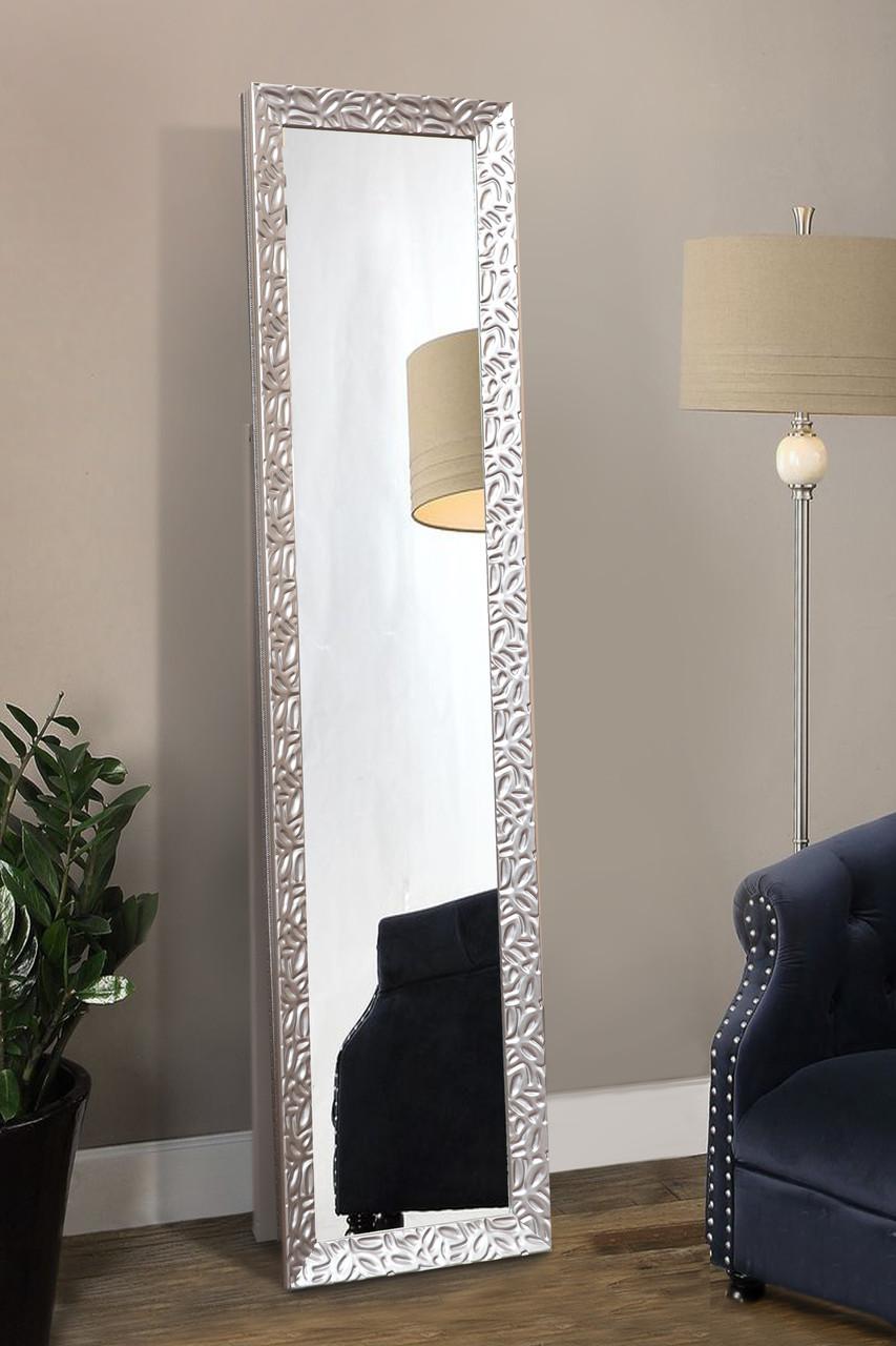 Напольное зеркало в полный рост, эксклюзивный цвет 1650х400 мм