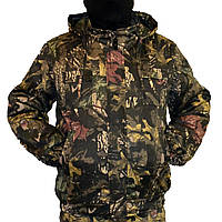 Куртка зимняя под резинку Дубок с капюшоном р.48-58