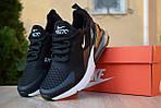 Жіночі кросівки Nike Air Max 270 (чорно-білі) 2893, фото 3