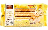 Вафельные трубочки с ванильным кремом Feiny Biscuits Waffel Vanille 160 г Австрия