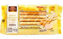 Вафельные трубочки с ванильным кремом Feiny Biscuits Waffel Vanille 160 г Италия
