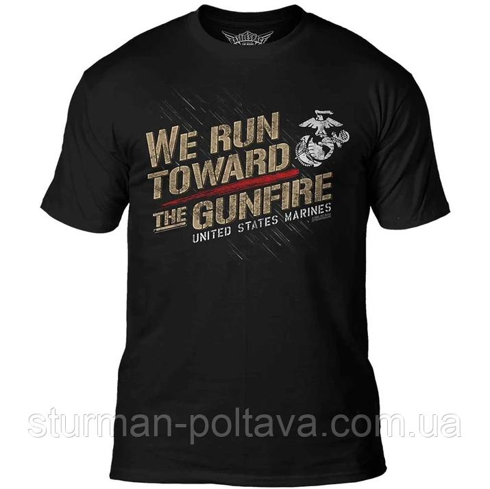 Футболка 7.62 Design USMC 'Toward The Gunfire'