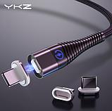 Коннектор micro USB для магнитного кабеля ROCK YKZ TONGYINHAI быстрая зарядка Android Samsung Xiaomi, фото 5