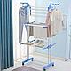 Сушилка для белья Cloth Rack, Складная сушилка для белья «Так удобно», Сушка для одежды и белья, фото 2