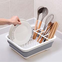 Сушилка для посуды силиконовая складная