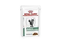 Влажный лечебный корм Royal Canin Diabetic Feline для кошек с сахарным диабетом 0,085 КГ 12шт