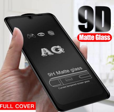 Защитное стекло 9D матовое Xiaomi Redmi Note 9s полная проклейка 9H захисне скло ксиоми