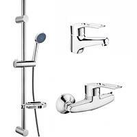 Набор смесителей для ванной комнаты в комплекте с дешевой стойкой CRON HANSBERG.SET - 2