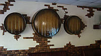 Оформление помещений в бондарном стиле