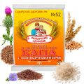 """Каша """"Здоровяк"""" № 52 - (супер-кремневая), пшеница, лён, расторопша, рис"""