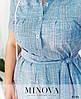 Платье №8-243-деним Размеры 62-64,, фото 4