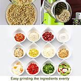 Овощерезка мультислайсер Tabletop Drum Grater Kitchen Master Терка для овощей и фруктов, 3 насадки, фото 9