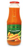 Упаковка морковного сока Бессарабка с мякотью, прямого отжима 6 X 1L