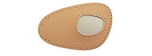 Вставки кожаные с пелотой для поперечного свода стопы Coccine IDA