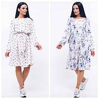 Платье в бохо стиле женское «Габи» (Белое | 42, 44, 46, 48, 52)
