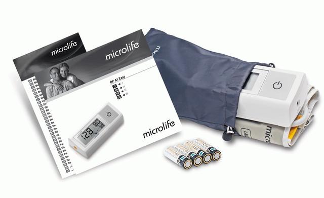 Комплектация тонометра Microlife BP A1 Easy