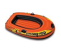 Лодка надувная одноместная Intex 58355 EXPLORER Оранжевый, КОД: 1686978
