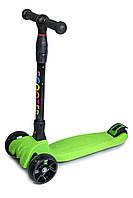 Самокат детский Smart Green Черный с зеленым 460304254, КОД: 1197938