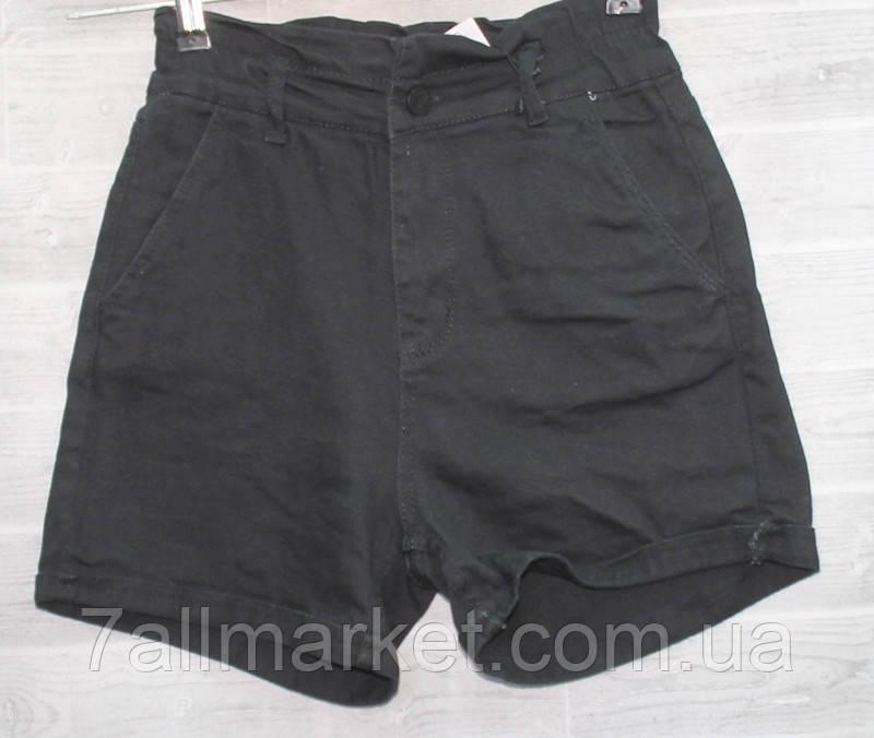 """Шорты женские джинсовые на молнии, размеры 26-31 """"PLAY"""" недорого от прямого поставщика"""