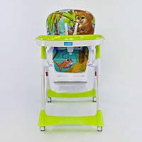 Детский стульчик для кормления JOY J-4100 Котик 72444, КОД: 1291439