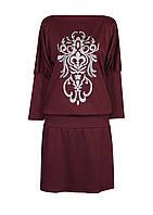 Платье-мышь АНЖЕЛИКА,французский трикотаж,размеры 46-64.
