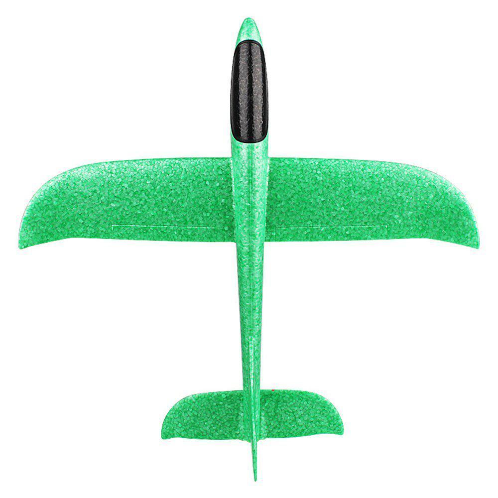 Планер метательный SUNROZ Ручной метательный планер, 480 мм Зеленый