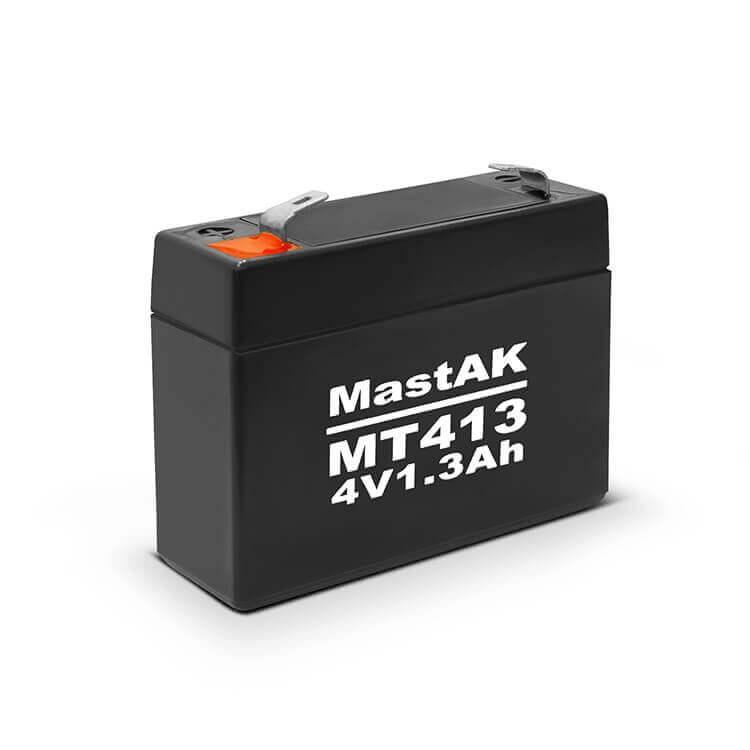 Акумулятор 4V/1.3Ah свинцево-кислотний MT413 MastAK