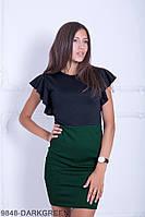 Жіноче плаття Подіум Candelaria 9848-DARKGREEN S Зелений