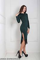Жіноче плаття Подіум Similar 20854-DARKGREEN XS Зелений