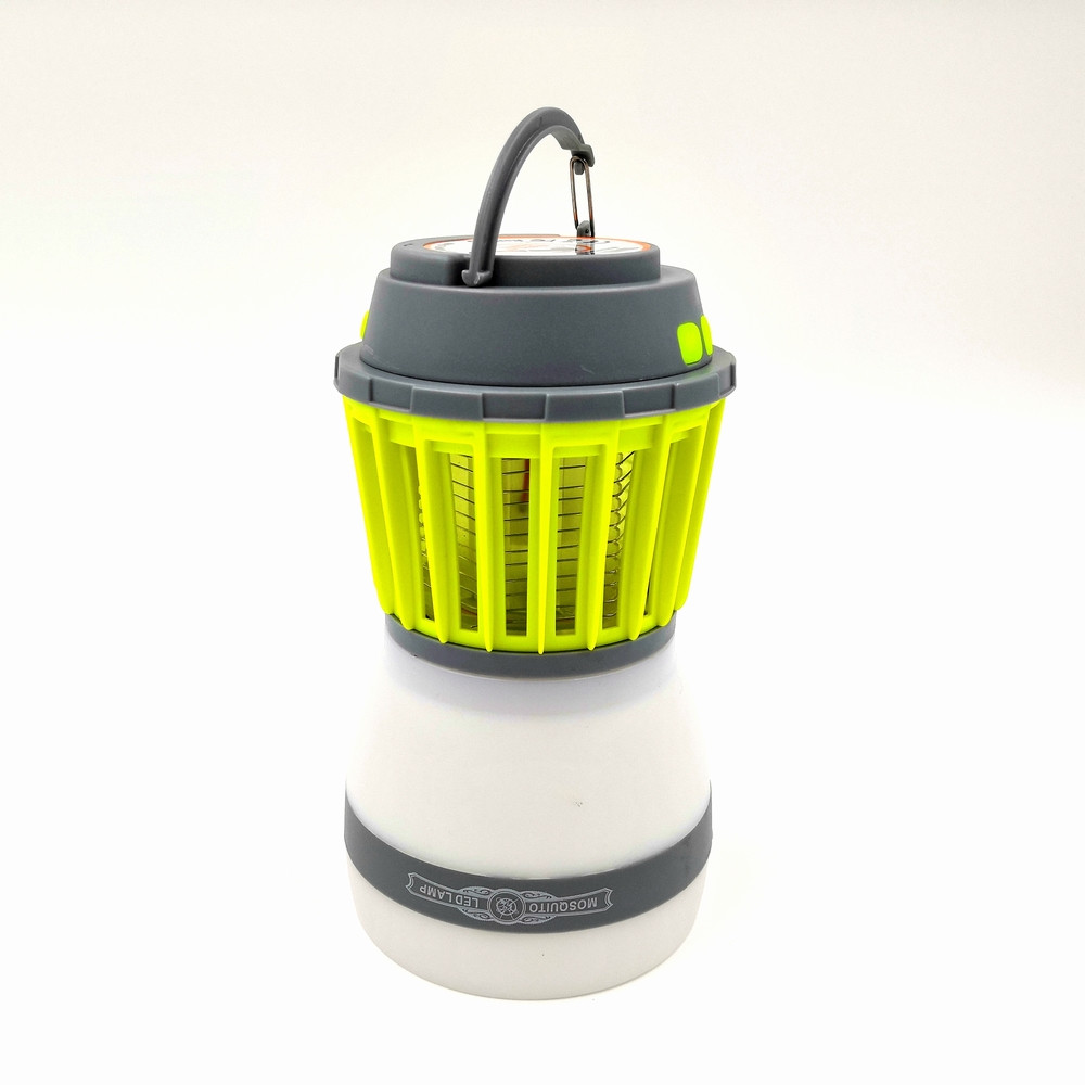 Знищувач комарів SUNROZ Killer Lamp M4 IP67 2в1 пастка для комах + ліхтар для кемпінгу 2200 mAh Зелений