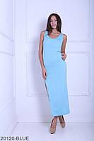 Жіноче плаття Подіум Melinda 20120-BLUE XS Голубий