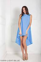 Жіноче плаття Подіум Feder 18998-LIGHT/BLUE XS Голубий