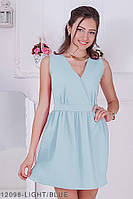 Жіноче плаття Queen' Подіумs 12098-LIGHT/BLUE S Голубий