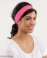 Пов'язка на голову Подіум 21330-PINK uni Рожевий