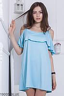 Жіноче плаття Подіум Ariana 19005-BLUE XS-M Голубий