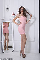 Жіноче плаття Подіум Eliza 18322-ROSE XS Рожевий