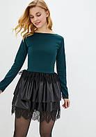 Жіноче плаття Подіум Sabrina 21115-DARKGREEN XS Зелений