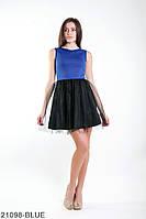 Жіноче плаття Подіум Lorein 21098-BLUE XS Синій