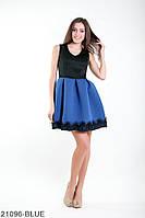 Жіноче плаття Подіум Sharon 21096-BLUE S Синій