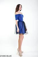 Жіноче плаття Подіум Felisia 21095-BLUE XS Синій